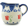 8 oz Stoneware Pitcher - Polmedia Polish Pottery H5732I