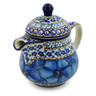 8 oz Stoneware Pitcher with Lid - Polmedia Polish Pottery H2830C