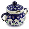 8 oz Stoneware Sugar Bowl - Polmedia Polish Pottery H4316J