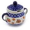 8 oz Stoneware Sugar Bowl - Polmedia Polish Pottery H4379J