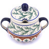8 oz Stoneware Sugar Bowl - Polmedia Polish Pottery H8489C