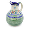 83 oz Stoneware Pitcher - Polmedia Polish Pottery H0356K
