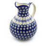 83 oz Stoneware Pitcher - Polmedia Polish Pottery H3130J