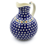 83 oz Stoneware Pitcher - Polmedia Polish Pottery H3131J