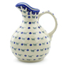 83 oz Stoneware Pitcher - Polmedia Polish Pottery H4054J