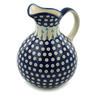 83 oz Stoneware Pitcher - Polmedia Polish Pottery H6081I