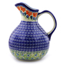 83 oz Stoneware Pitcher - Polmedia Polish Pottery H9095I