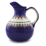 83 oz Stoneware Pitcher - Polmedia Polish Pottery H9122I