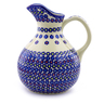 83 oz Stoneware Pitcher - Polmedia Polish Pottery H9123I