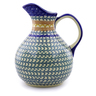 83 oz Stoneware Pitcher - Polmedia Polish Pottery H9147I