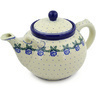 84 oz Stoneware Tea or Coffee Pot - Polmedia Polish Pottery H3201E