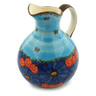 85 oz Stoneware Pitcher - Polmedia Polish Pottery H5396I