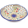 9-inch Stoneware Bowl with Holes - Polmedia Polish Pottery H2752J