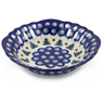 9-inch Stoneware Bowl with Holes - Polmedia Polish Pottery H8781E