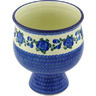 9-inch Stoneware Bowl with Pedestal - Polmedia Polish Pottery H5925G