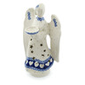 9-inch Stoneware Candle Holder - Polmedia Polish Pottery H4484I