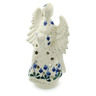 9-inch Stoneware Candle Holder - Polmedia Polish Pottery H6060I