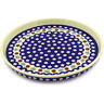 9-inch Stoneware Cookie Platter - Polmedia Polish Pottery H3619D