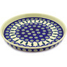 9-inch Stoneware Cookie Platter - Polmedia Polish Pottery H3620D