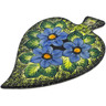 9-inch Stoneware Cutting Board - Polmedia Polish Pottery H1567K