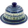 9-inch Stoneware Dish with Cover - Polmedia Polish Pottery H2691B