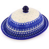 9-inch Stoneware Dish with Cover - Polmedia Polish Pottery H8588F