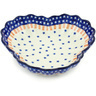 9-inch Stoneware Fluted Bowl - Polmedia Polish Pottery H6507H