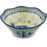 9-inch Stoneware Fluted Bowl - Polmedia Polish Pottery H9304H