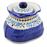 9-inch Stoneware Garlic and Onion Jar - Polmedia Polish Pottery H0217K