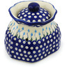 9-inch Stoneware Garlic and Onion Jar - Polmedia Polish Pottery H0726H