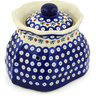 9-inch Stoneware Garlic and Onion Jar - Polmedia Polish Pottery H1297H