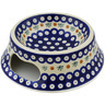 9-inch Stoneware Pet Bowl - Polmedia Polish Pottery H0962H