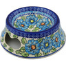 9-inch Stoneware Pet Bowl - Polmedia Polish Pottery H1020H