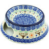 9-inch Stoneware Pet Bowl - Polmedia Polish Pottery H8263H