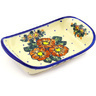 9-inch Stoneware Platter with Handles - Polmedia Polish Pottery H2075G