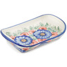 9-inch Stoneware Platter with Handles - Polmedia Polish Pottery H2594J