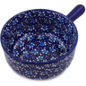 9-inch Stoneware Round Baker with Handles - Polmedia Polish Pottery H2758K