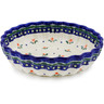 9-inch Stoneware Scalloped Bowl - Polmedia Polish Pottery H0564K