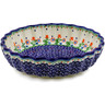 9-inch Stoneware Scalloped Bowl - Polmedia Polish Pottery H1483K