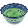 9-inch Stoneware Scalloped Bowl - Polmedia Polish Pottery H4909H