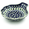 9-inch Stoneware Scalloped Bowl - Polmedia Polish Pottery H6225J