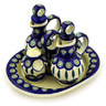 9-inch Stoneware Seasoning Set - Polmedia Polish Pottery H3773D