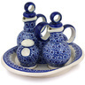 9-inch Stoneware Seasoning Set - Polmedia Polish Pottery H7389D