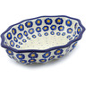 9-inch Stoneware Serving Bowl - Polmedia Polish Pottery H0369J