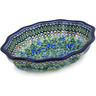 9-inch Stoneware Serving Bowl - Polmedia Polish Pottery H0407G