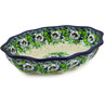 9-inch Stoneware Serving Bowl - Polmedia Polish Pottery H8582J