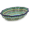 9-inch Stoneware Serving Bowl - Polmedia Polish Pottery H8583J