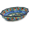 9-inch Stoneware Serving Bowl - Polmedia Polish Pottery H8590J
