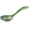 9-inch Stoneware Serving Spoon - Polmedia Polish Pottery H2896C