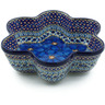 9-inch Stoneware Star Shaped Bowl - Polmedia Polish Pottery H5606I